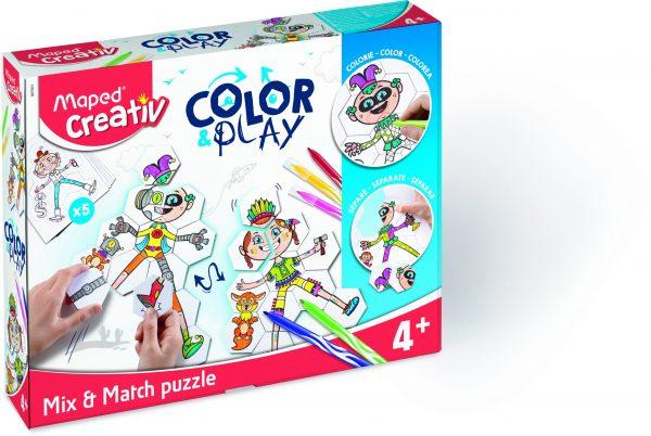 Creativ Color & Play Mix & Match Puzzle