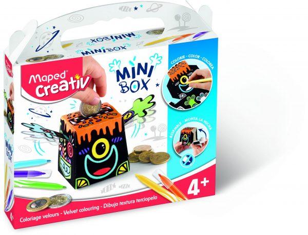 Creativ Mini Box Velvet Colouring