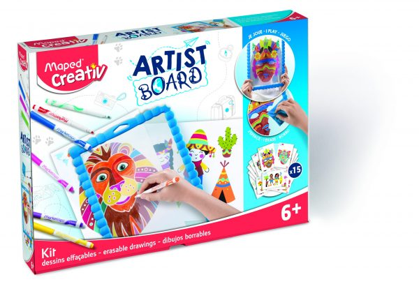 Creativ Artist Board Erasable Drawings