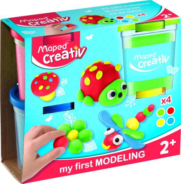 Creativ Modelling Clay POT X4