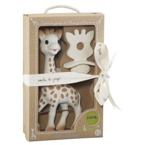 SLG So'Pure Sophie La Girafe & Teething Rubber