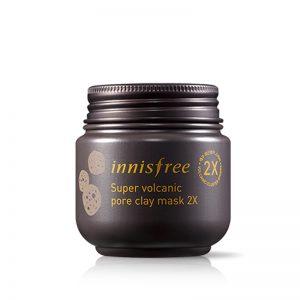 Innisfree Volcanic Pore Clay Mask 2x - 100ml