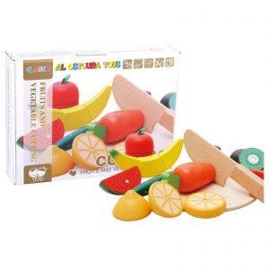 Al Ostoura Educational Toys -  Fruit And Vegetable Cutting