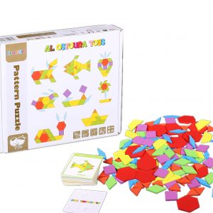 Al Ostoura Educational Toys - Wooden Puzzle of Pattern