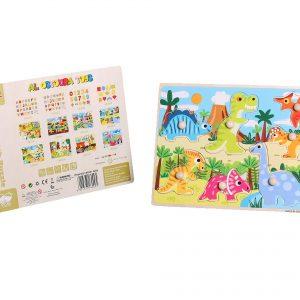 Al Ostoura Educational Toys - Hand Catch Puzzle - Jurassic Park