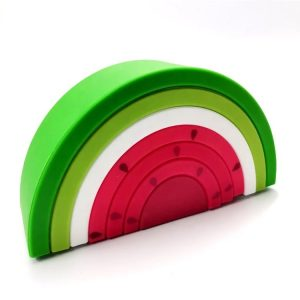 Myna Box stacking teething toy -  Watermelon