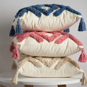 Cotton Embroidered Pillow Case