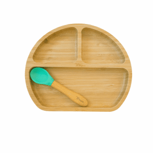 Myna box round plate for kids